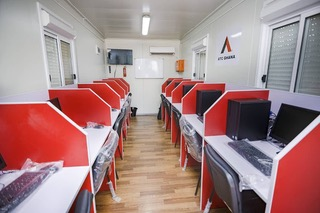 Digital Village ICT Lab - Inside View